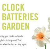 Daylight Savings Poster - Change Your